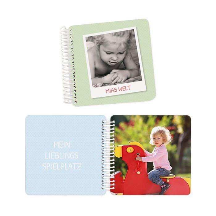 Individuelles Fotobuch für Kinder mit extra dicken Seiten