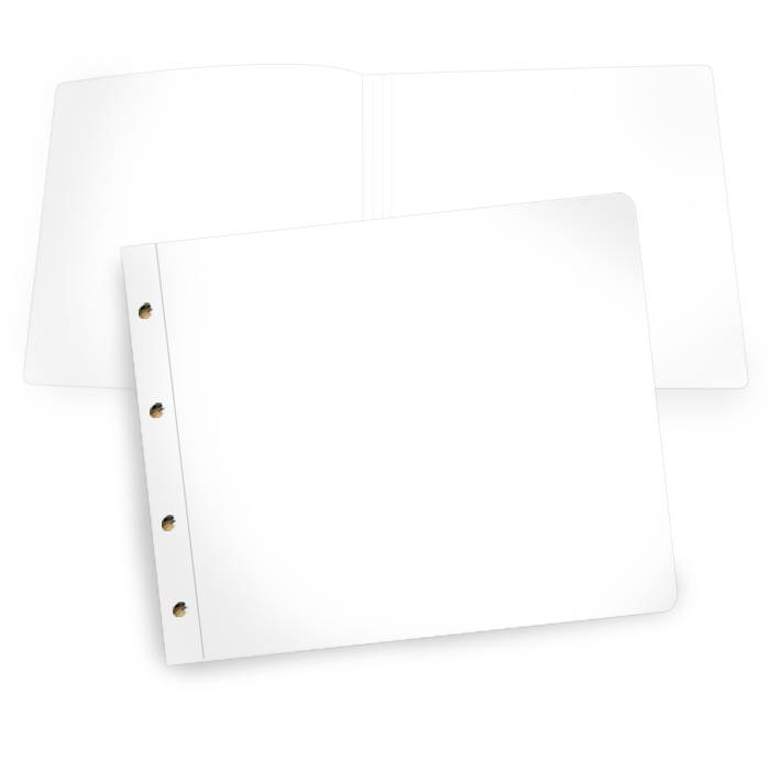 Online selbst gestalten: Blanko Gästebuch 360 x 300 mm