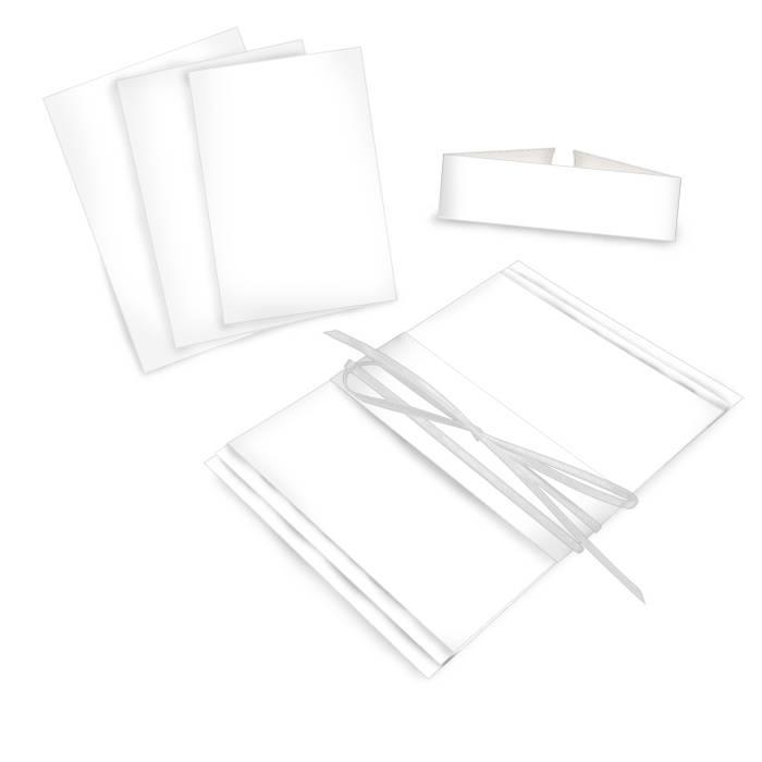 Online selbst gestalten : Blanko Kartenset im Format A5