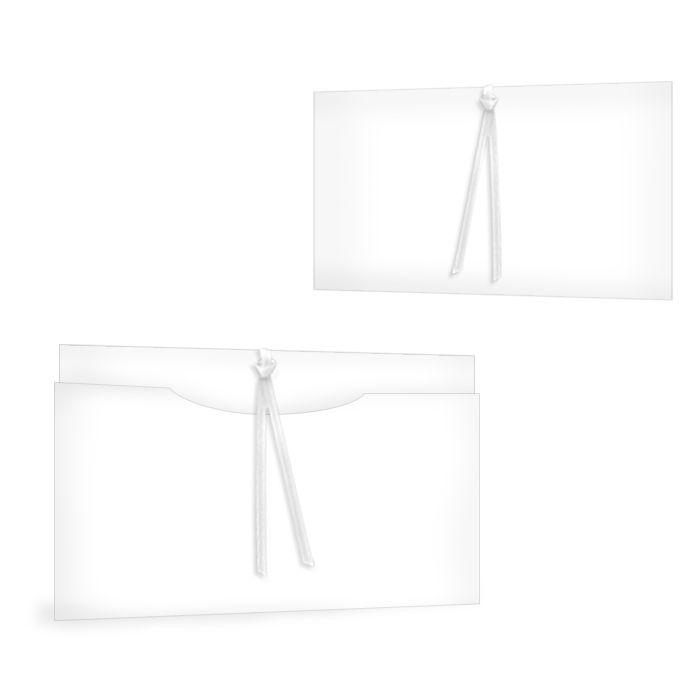 Online selbst gestalten: Blanko Einsteckkarte 17 x 11 cm
