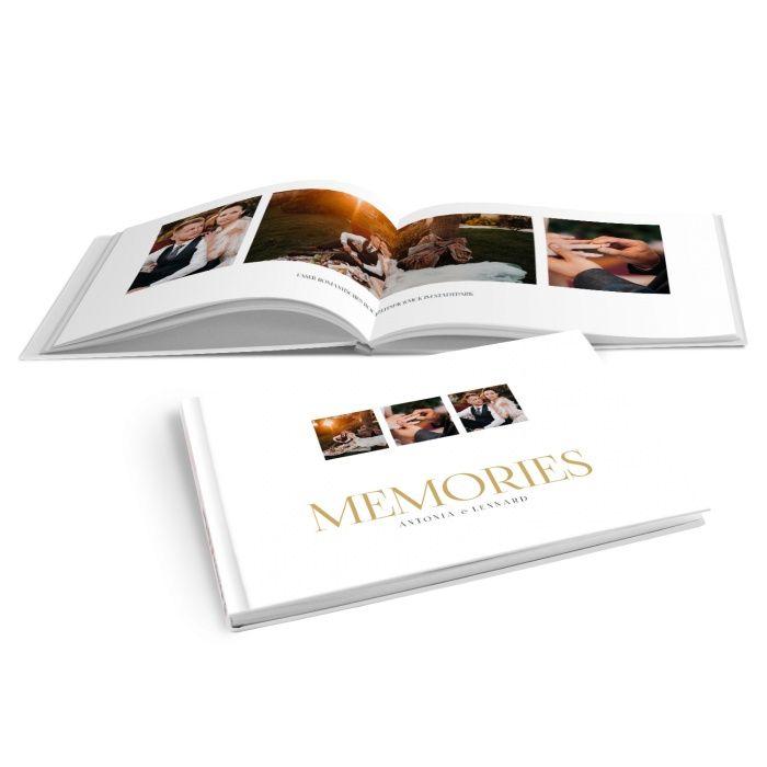 Elegantes Fotobuch zur Hochzeit mit individueller Gestaltung