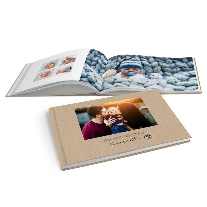 Tierisches Fotobuch: Ihre Kinderfotos für die Ewigkeit im Kraftpapier Look
