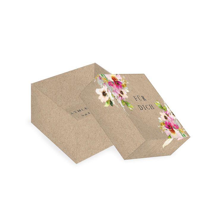 Geschenkebox für die Hochzeitsgäste im Landhausstil