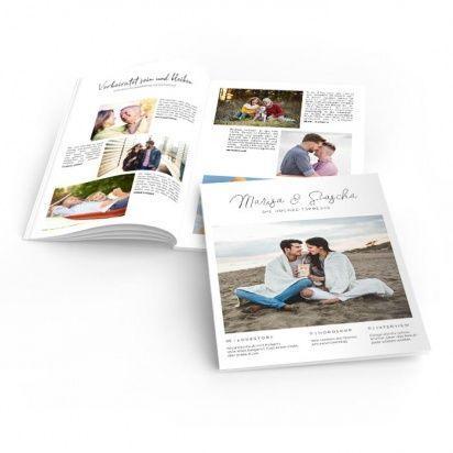Individuelle Hochzeitszeitungen Online Selbst Gestalten Carinokarten