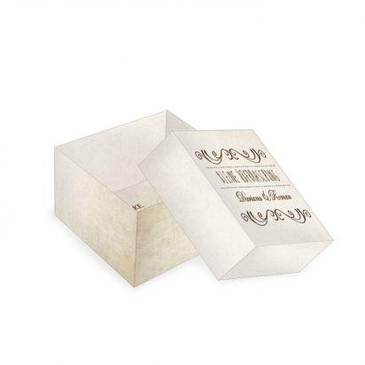 Verpackung für Gastgeschenk