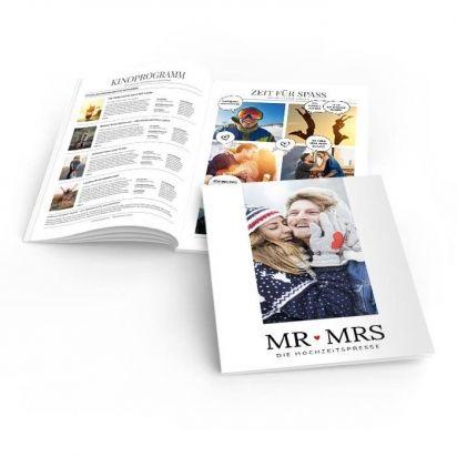 Hochzeitszeitung beiträge für Hochzeitszeitung gestalten