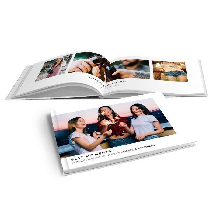 Modernes Fotobuch Freundschaft mit tollen Erinnerungsfotos