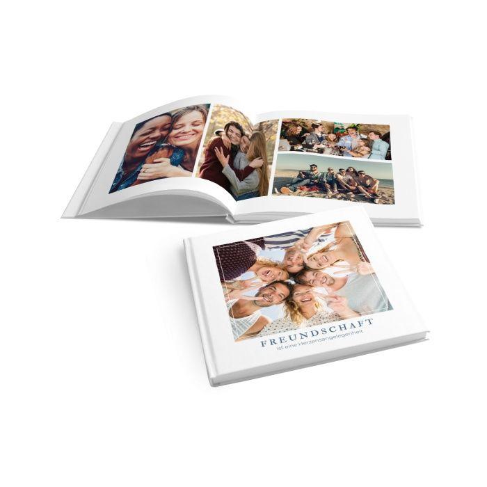 Modernes Fotobuch für Freundschaftbilder mit großem Foto