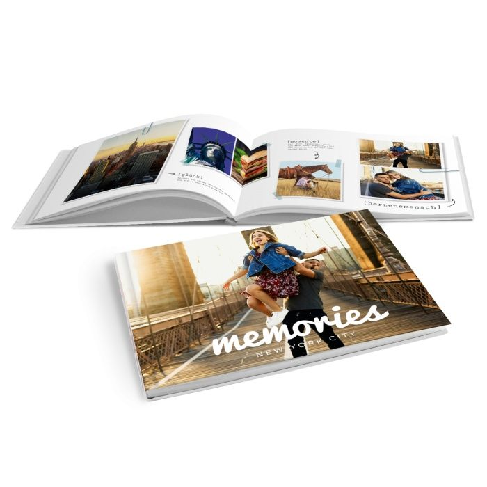Modernes Fotobuch für tolle Erinnerungen aus dem Urlaub