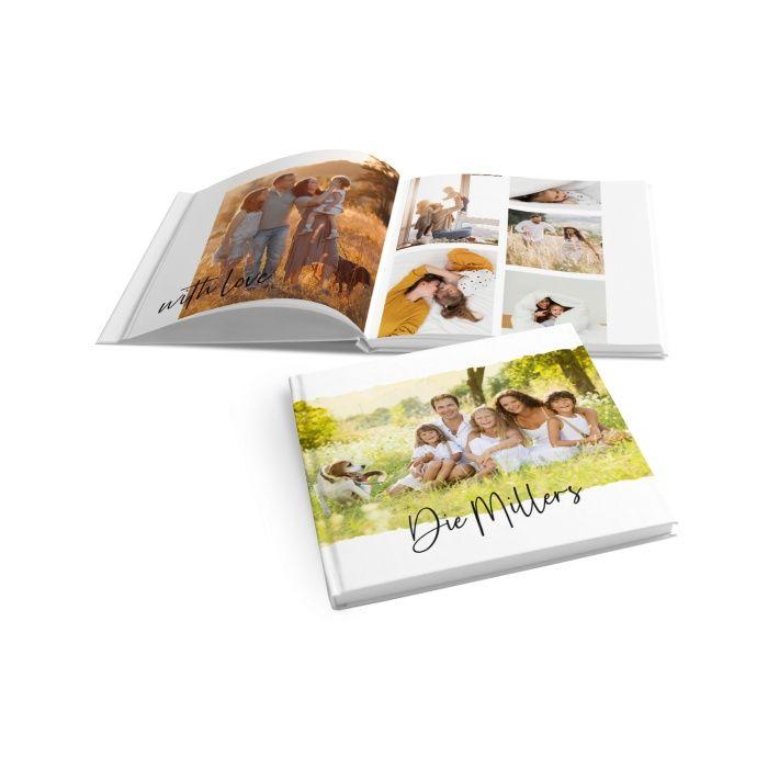 Modernes Fotobuch für tolle Familienbilder