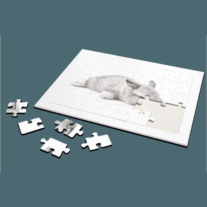 Rahmenpuzzle mit individuellen Foto online gestalten