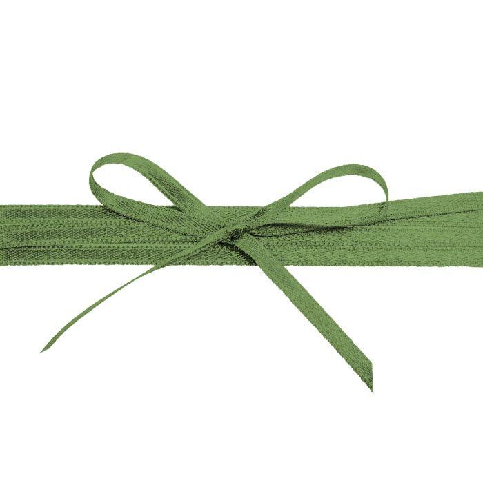 Hochwertiges Satinband in Dunkelgrün - für Ihre Hochzeit