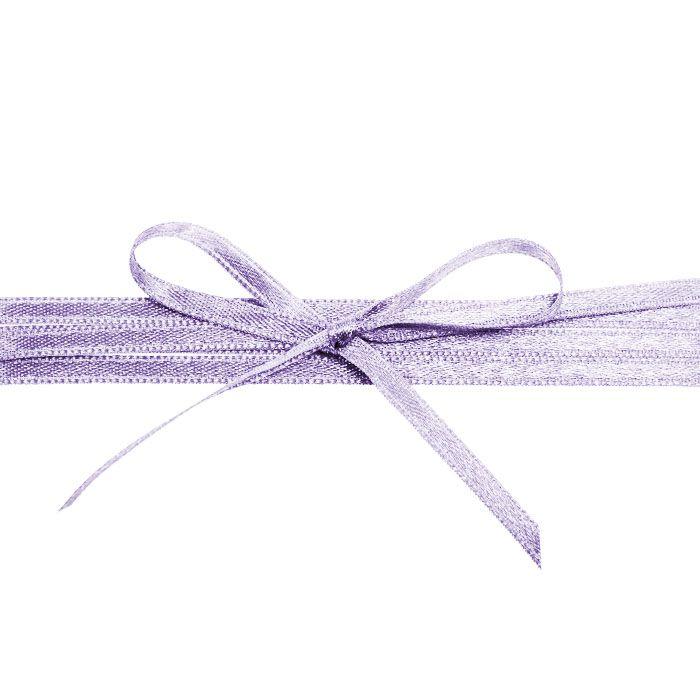 Hochwertiges Satinband in Flieder - für die Hochzeitsdetails