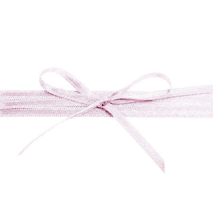 Hochwertiges Satinband in Hellrosa - für Ihre Hochzeit
