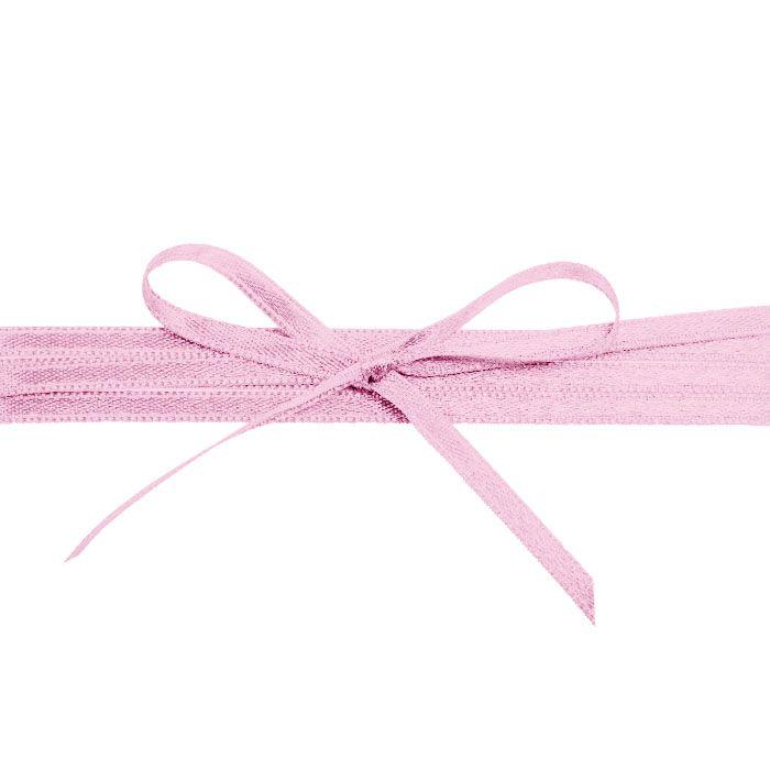 Hochwertiges Satinband in Rosa - für Ihre Hochzeitsdetails