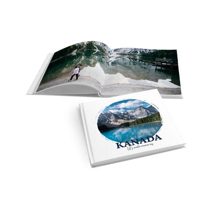 Schlichtes Fotobuch für unvergessliche Urlaubsbilder - online selbst gestalten