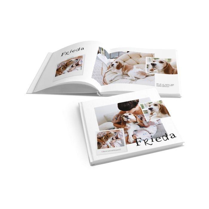 Tierisches Fotobuch für die schönsten Momente mit dem Haustier