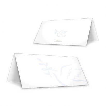 Tischkarte für Kommunion / Konfirmation